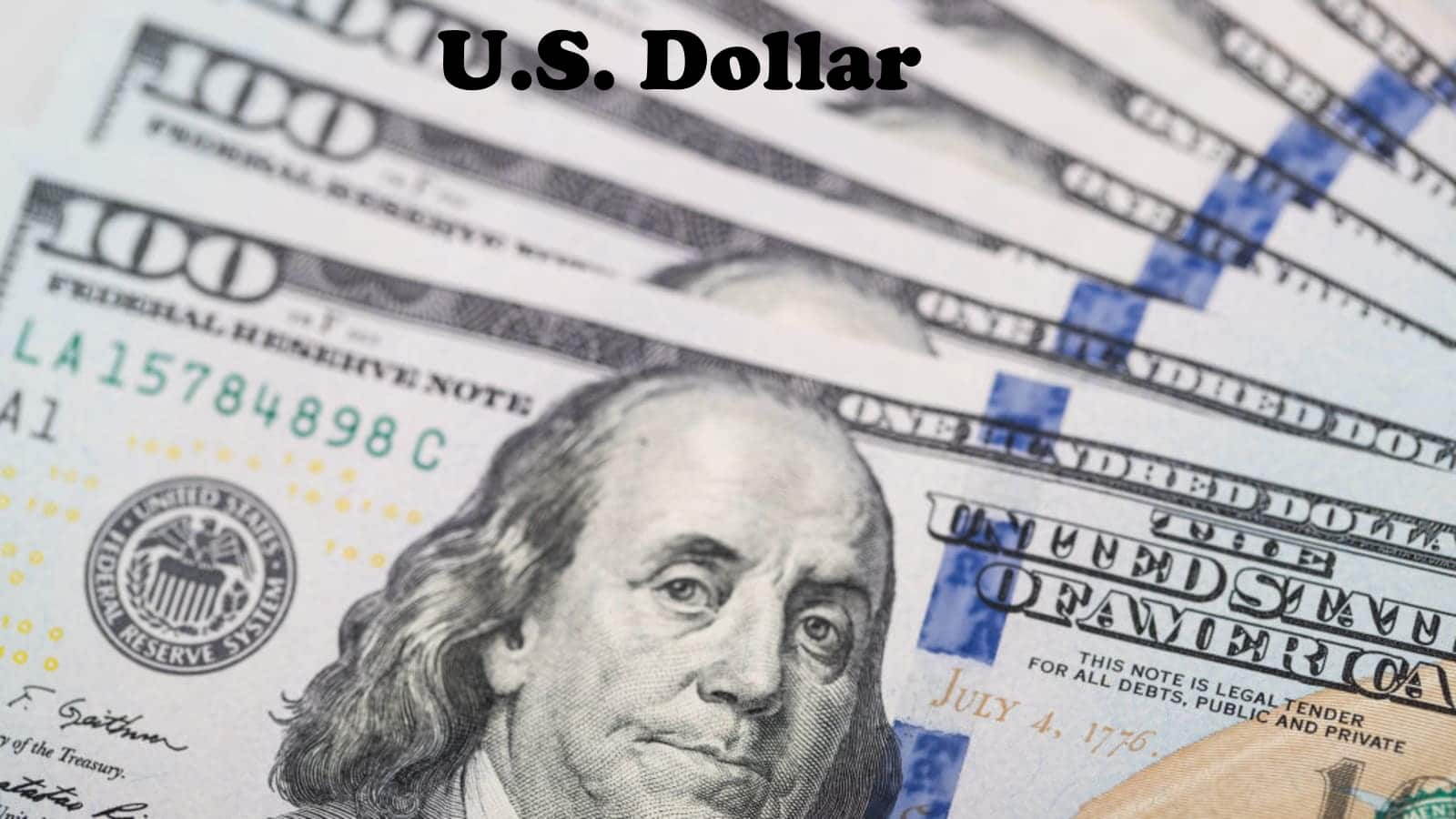 US Dollar - Six Most Traded World Currencies