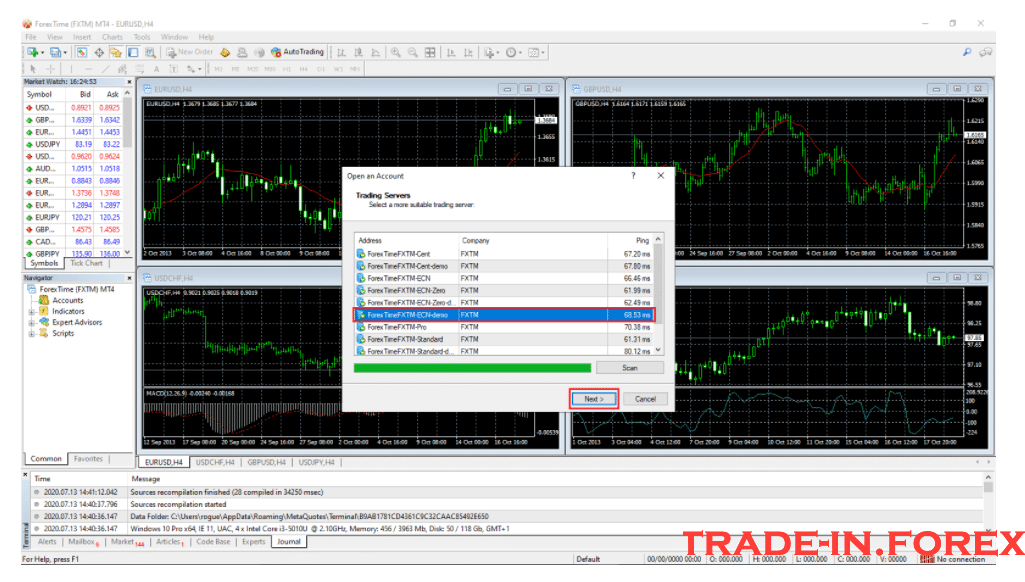Installing and Setting Up the Metatrader 4
