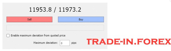 BTC trading Bid Price- Ask price