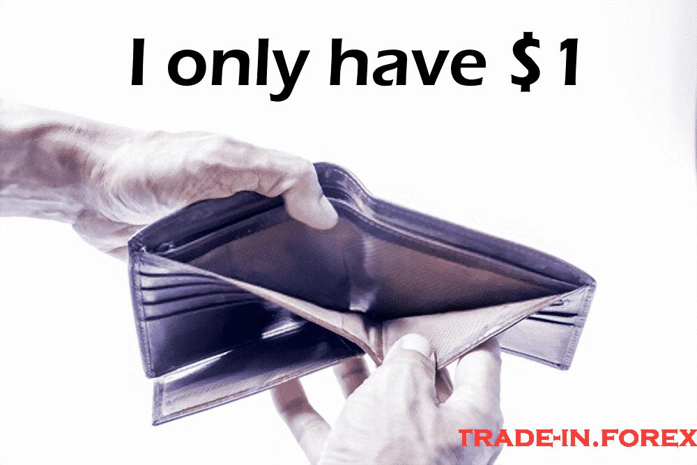 Cara memulai perdagangan Forex dari $ 1